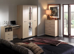 Solo oak bedroom suite