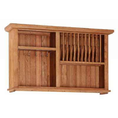 Evelyn Wall Cabinet with Wine Rack And 1 Open Shelf