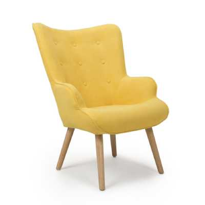 Corsair Sunny Yellow Accent Chair