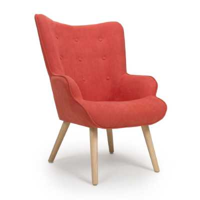 Corsair Brick Orange Accent Chair