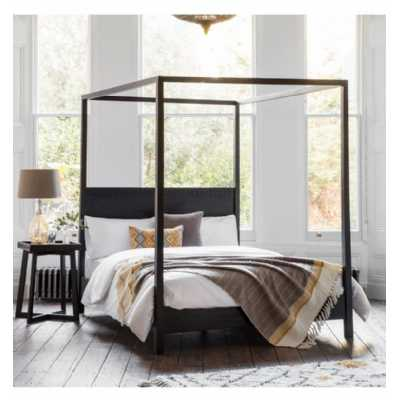 Boho Boutique Mindy Wood 4 Poster 5ft King Size Bed