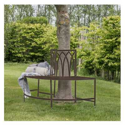 Outdoor Tree Bench Seat Ember