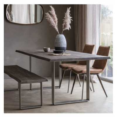 Dining Bench Grey