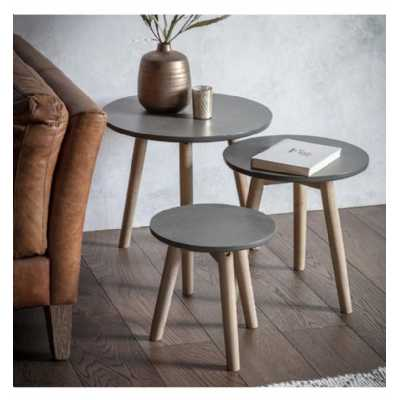 Tables Grey (Nest of 3)