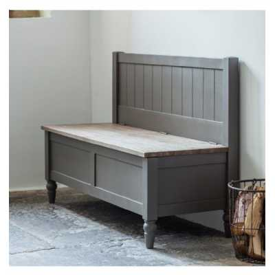 Hall Bench Grey