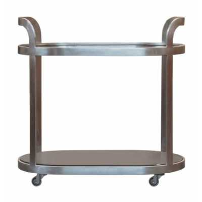 Drinks Trolley Pewter