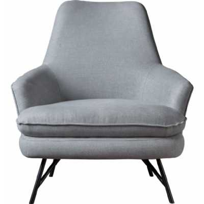 Chair Bailey Pewter