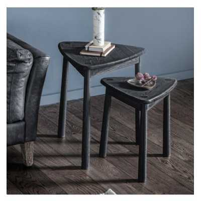 Tables Black (Nest of 2)