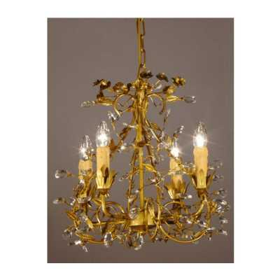 Bronze Chandelier 4 Arm