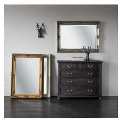 Rectangle Mirror Gold