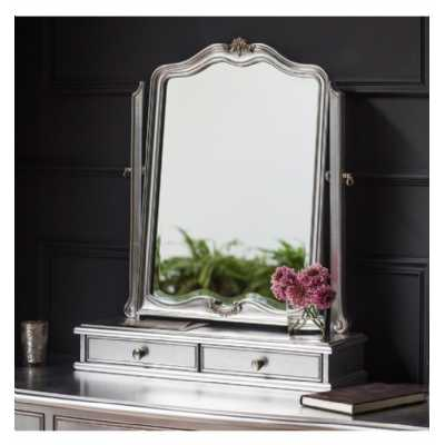 Dressing Table Mirror Silver