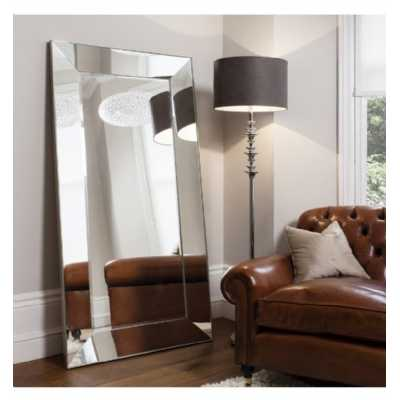 Leaner Mirror Silver