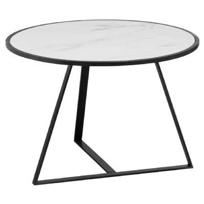 Grey And Marble Low Side Coffe Table