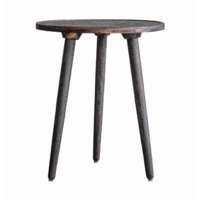 Side Table Grey Copper