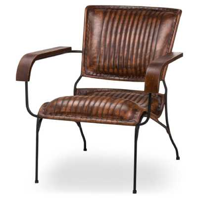 Billy Leather Club Chair
