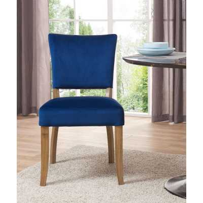 Bourton Chair Royal Blue Velvet