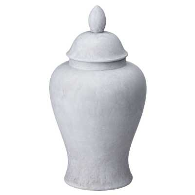 Darcy Large Stone Ginger Jar