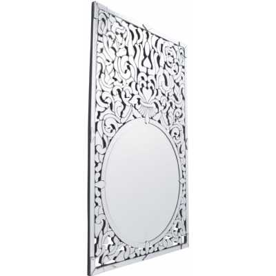 Venezia Etched Wall Mirror Venitian Ornate Mirrored Glass Frame