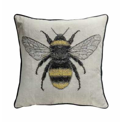 Bee Cushion Natural