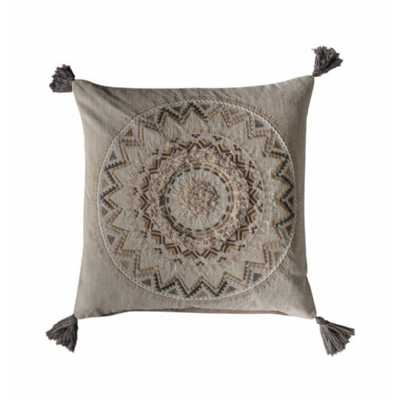 Tassel Cushion Natural