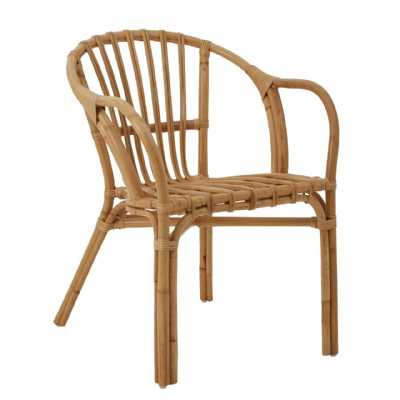 Brown Natural Rattan Conservatory Comfy Chair Havana low Armchair