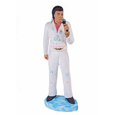 3ft Elvis with Microphone