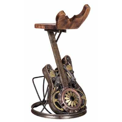 Recycled Sculptures Wrought Iron Guitar Chair