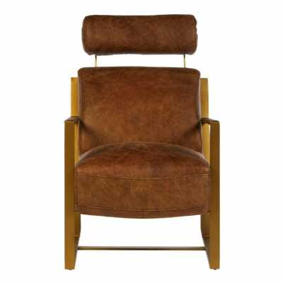 Fifty Five South Hoxton Rose Gold Lounge Chair