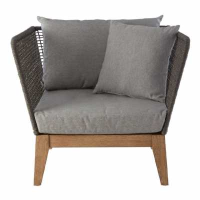 Fifty Five South Opus Grey Armchair