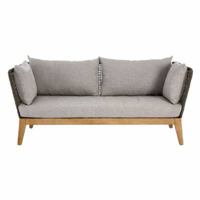 Fifty Five South Opus 3 Seat Grey Sofa