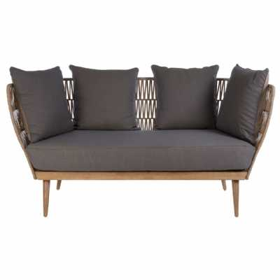 Fifty Five South Opus 2 Seat Rope Sofa