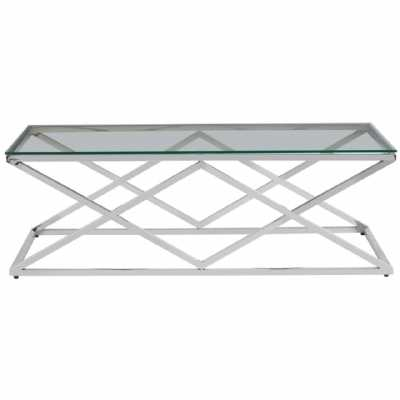 Fifty Five South Allure Inverted Prism Base Coffee Table