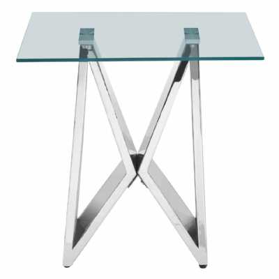 Fifty Five South Allure Wing Base End Table