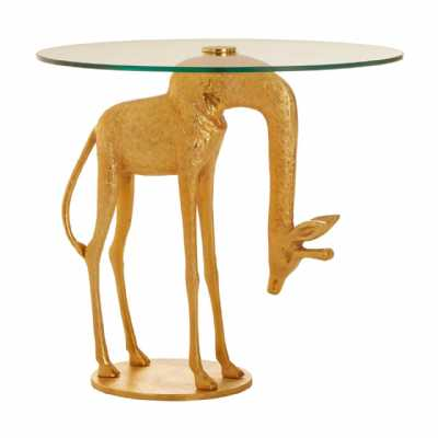 Fifty Five South Sika Giraffe Side Table