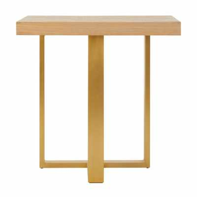 Fifty Five South Villi Gold Side Table