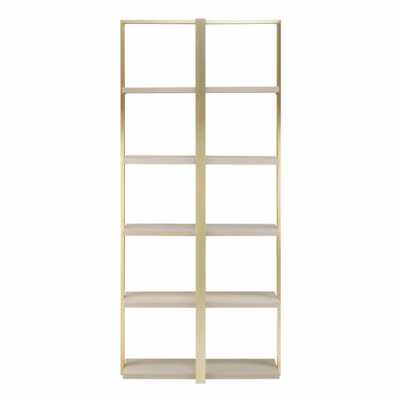 Fifty Five South Villi Oak Wood Shelf Unit