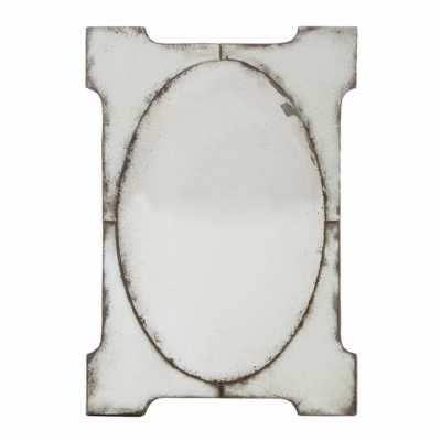 Fifty Five South Riza Small Wall Mirror With Cut Out Corners