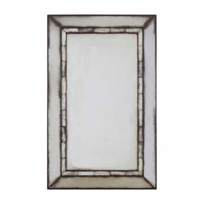 Fifty Five South Riza Rectangular Tiled Wall Mirror