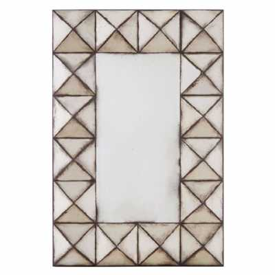 Fifty Five South Riva Pyramid Wall Mirror
