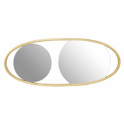 Fifty Five South Villi Large Oval Wall Mirror