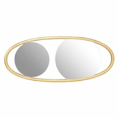 Fifty Five South Villi Small Oval Wall Mirror
