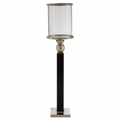 Large Kensington Townhouse Candle Holder Floor Standing Black Base
