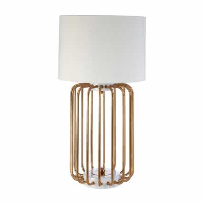 Fifty Five South Zora Table Lamp With Eu Plug