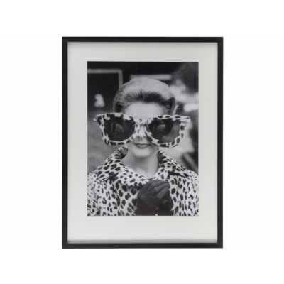 Time Life Lady Sunglasses Framed Print