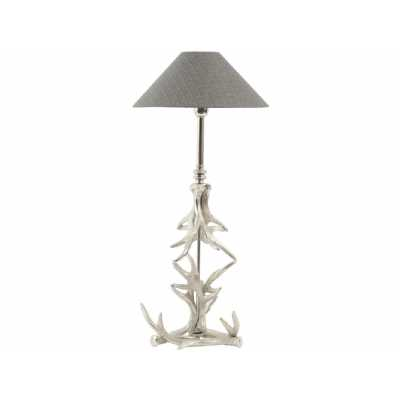 Nickel Antler Table Lamp E27 40W