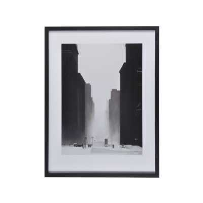 The Big City Framed Print By David Cowden Black and White Cityscape