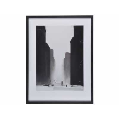 The Big City Framed Print By David Cowden