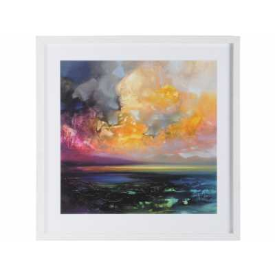 Contemporary Isle of Jura Emerges Framed Print by Scott Naismith