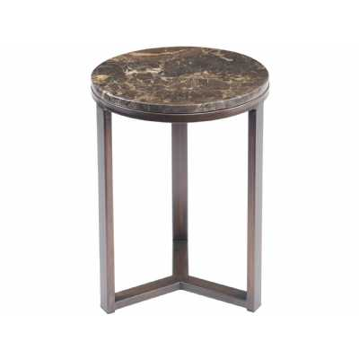 Fitzroy Emperador Marble Side Table