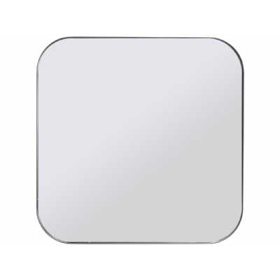 Chancery Square Black Frame Mirror Large